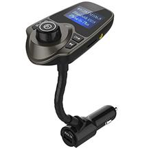 [From USA]FM Transmitter Wireless Car Radio Adapter MP3 Player Music Hands-Fre