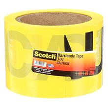 [FromUSA]Scotch Barricade Tape 301 CAUTION 3 in x 300 ft Yellow