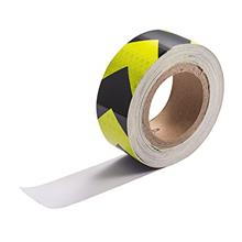 [FromUSA]ATMOMO Yellow Black Car Arrow Reflective Tape Safety Warning Tapes St