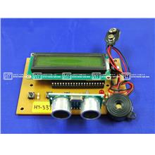 HT337 Ultrasonic Range Finder With LCD / Electronics Kit