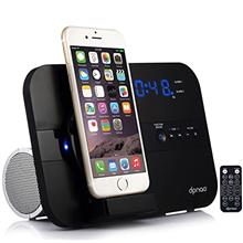 [From USA]dpnao Alarm Clock FM Radio Speaker with iPhone Charger Stand Docking