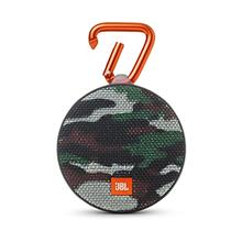 [From USA]JBL Clip 2 Waterproof Portable Bluetooth Speaker (Camouflage) (Camo)