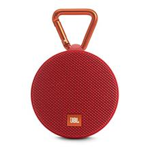 [From USA]JBL Clip 2 Waterproof Portable Bluetooth Speaker (Red) (Red)