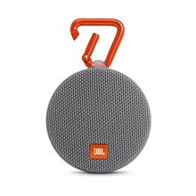 [From USA]JBL Clip 2 Waterproof Portable Bluetooth Speaker - Grey (Gray)