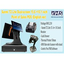 Sunmi T2 Lite Point of Sales POS 15.6 + 10.1inch 58mm (English version