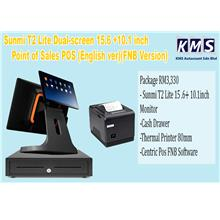 Sunmi T2 Lite Point of Sales POS 15.6 + 10.1inch 80mm (English version