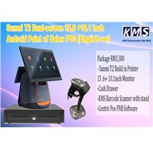 Sunmi T2 Android Point of Sales POS Dual-screen 15.6 + 10.1 inch (Eng