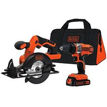 [From USA]BLACK+DECKER 20V MAX Cordless Drill Combo Kit 2-Tool (BDCD220CS)