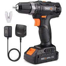 [From USA]TACKLIFE 20V Cordless Drill Driver 3/8' Metal Chuck2 Speeds Compac