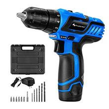 [From USA]12V Cordless Drill Driver Set PROSTORMER 2.0Ah Lithium-Ion Compact D