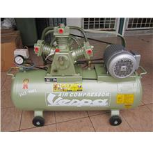 Vespa 2.0HP 95Litre 3x Piston Belt-Driven Air Compressor