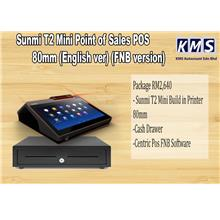 Sunmi T2 Mini Point of Sales POS 80mm (English version) (FNB version)