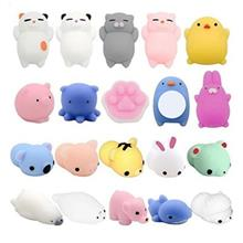 Creative Animals Model Decompression Toys 20pcs (MULTI)