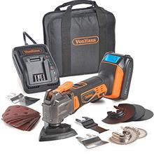 [From USA]VonHaus 20V MAX Cordless Oscillating Multi-Tool Kit with Variable Sp