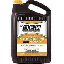[From USA]OEM 86-834GOEMFC Premium Antifreeze 50/50 Extended Life Gold 128. Fl