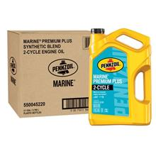 [From USA]Pennzoil 550045220-3PK 1 gallon Marine Premium Plus Outboard (2 Cycl