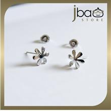 Flower Earrings 925 Sterling Silver Earring Studs Birthday Valentine Christmas