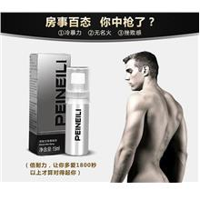 Original PEINEILI Men Delay Spray Long Lasting Toy 60min 15ml Sex Play