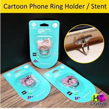 Cartoon Shaped Mobile Phone Ring Holder Kickstand