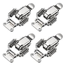 [From USA]uxcell HS-022 Nickel Plated Iron Compression Spring Draw Toggle Latc