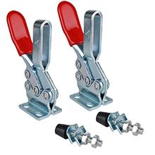 [From USA]E-TING 2PCS 500lbs Holding Capacity Toggle Clamps Horizontal Quick-R