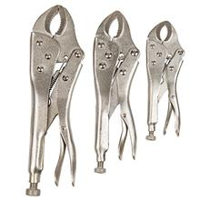 [From USA]Stalwart 75-HT3007 Locking Plier Set with Storage Pouch 3 Piece