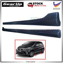 Perodua Myvi (3rd Gen) 2018 PU Bodykit Side Skirting Gear Up