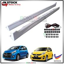 Perodua Myvi (2nd Gen) 2011-2017 ABS Bodykit Side Skirting (PAIR)