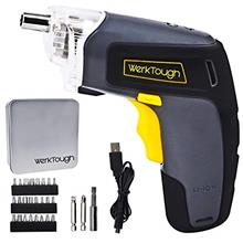 [From USA]Rechargeable Screwdriver 3.6V Home Repair Screwdriver Li-ion Battery