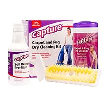 [From USA]Capture Carpet Dry Cleaning Kit 100 - Resolve Allergens Stain Smell