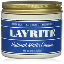 [USA Shipping]Layrite Natural Matte Cream 10.5 Oz.
