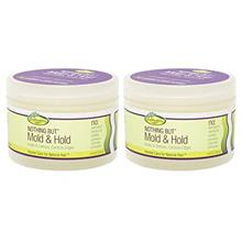 [USA Shipping]Nothing But Mold  & Hold Wax Gro Healthy Hair Care Flake-fre