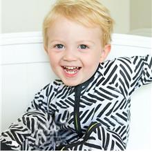 Short Sleeve Cotton Striped Printed Toddler Onesie for Baby Boys