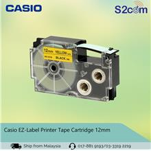 Casio EZ-Label Printer Tape Cartridge 12mm