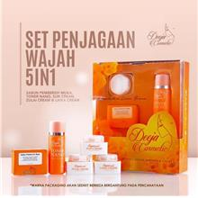 Deeja Cosmetic Skincare 5 in 1 (New Packaging,New Formula)!!!