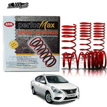 APM NISSAN ALMERA COIL SPORT SPRING APM PERFORMAX 4 PCS IN 1 SET