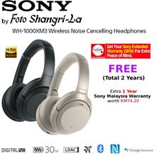Sony WH-1000XM3 Over-Ear Wireless Noise Cancelling Headphones -2 Years