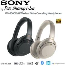 Sony WH-1000XM3 Over-Ear Wireless Noise Cancelling Headphones Hi-Res