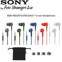 Sony MDR-XB55AP EXTRA BASS with Microphone In-Ear Headphones Earphones