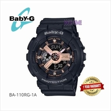 100% CASIO ORIGINAL BA-110RG-1A BA-110RG-1 LADY SPORT WATCH BA-110RG