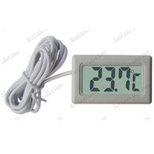 Insert Panel Mount Digital LCD Mini Thermometer -40C to 70C (DT-100SW)