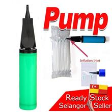 Hand Air Pump Inflatable Bubble Plastic Balloon Pam Angin Plastik