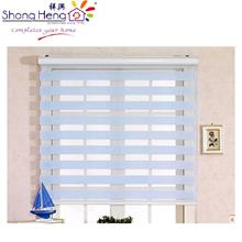 Zebra Double Ply Roller Blinds-Blue