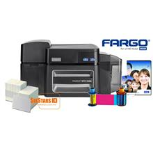 FARGO DTC1500 Double Side ID Card Printer