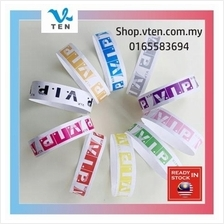 10pcs VIP TYVEK Pink Paper Wristbands EVENTS Wedding Playground