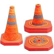 [FromUSA]Cartman Collapsible Traffic Cone 155 Inches Multi Purpose Pop up Refl