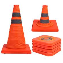 [FromUSA]Sunnyglade 4 Pack 15.5 inch Collapsible Traffic Cones Multi Purpose P