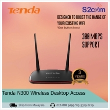 Tenda N300 Wireless Desktop Access Point (AP4)