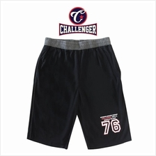 CHALLENGER BIG SIZE Cotton Track Shorts CHP5015 (Black)