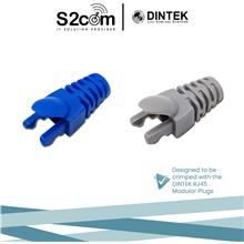 Dintek RJ45 Color-Coded Rubber Boot For CAT6 7mm
